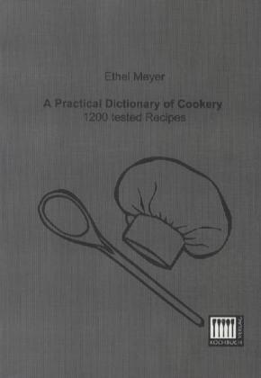A Practical Dictionary of Cookery | Dodax.ch