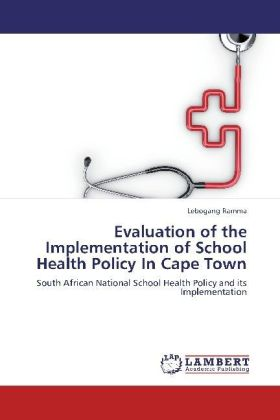 Evaluation of the Implementation of School Health Policy In Cape Town   Dodax.pl