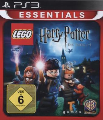 LEGO® Harry Potter 1 - 4 - Essentials, PS3-Blu-ray Disc | Dodax.co.jp