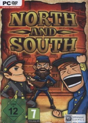 North & South, The Game, DVD-ROM | Dodax.fr