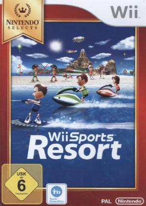 Wii Sports Resort Nintendo Selects Edition; German Version - Wii | Dodax.at