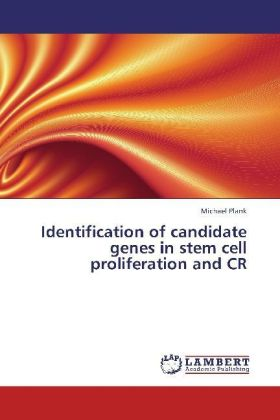 Identification of candidate genes in stem cell proliferation and CR | Dodax.ch
