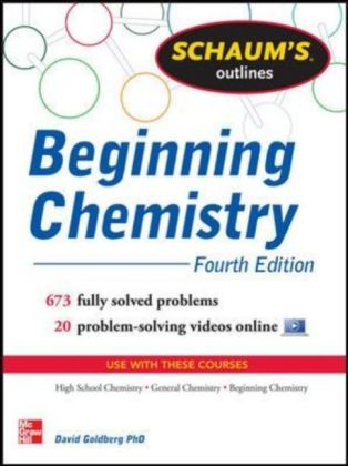 Schaum's Outline of Beginning Chemistry | Dodax.at