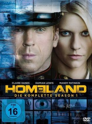 Homeland. Season.1, 4 DVDs | Dodax.co.uk
