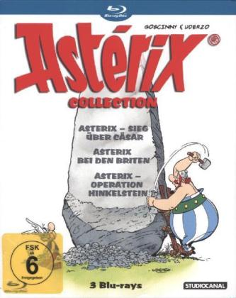 Asterix Collection, 3 Blu-rays | Dodax.ch