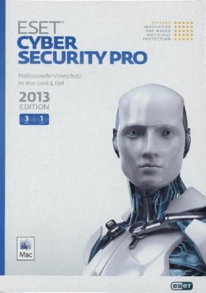 ESET Cyber Security Pro 2013 Edition, 3 User, MAC, 1 CD-ROM | Dodax.ch
