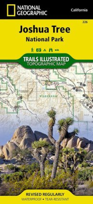 National Geographic Trails Illustrated Map Joshua Tree National Park | Dodax.ch