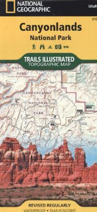 National Geographic Trails Illustrated Map Canyonlands National Park | Dodax.at