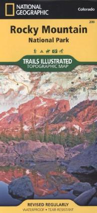 National Geographic Trails Illustrated Map Rocky Mountain National Park | Dodax.at