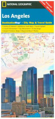 National Geographic DestinationMap Los Angeles | Dodax.at