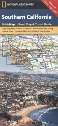 National Geographic GuideMap Southern California | Dodax.at