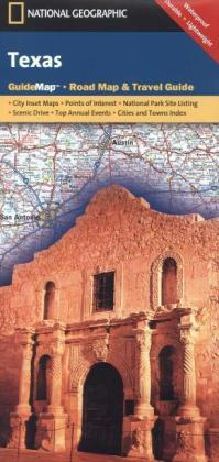 National Geographic GuideMap Texas | Dodax.at