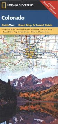 National Geographic GuideMap Colorado | Dodax.at