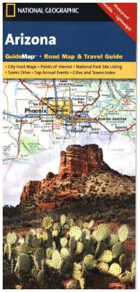 National Geographic GuideMap Arizona | Dodax.at