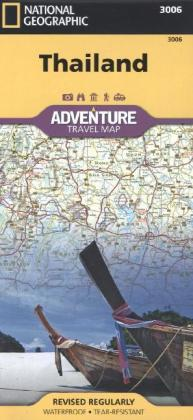 National Geographic Adventure Travel Map Thailand   Dodax.at