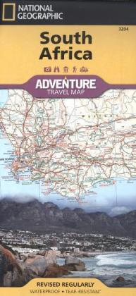 National Geographic Adventure Travel Map South Africa | Dodax.at