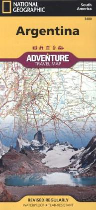 National Geographic Adventure Map Argentina | Dodax.ch