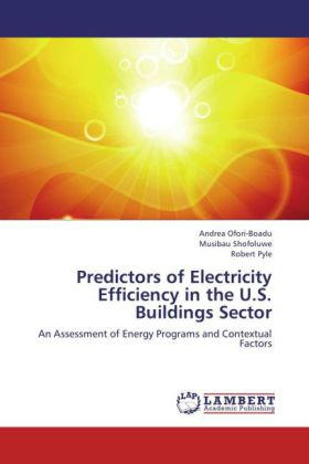 Predictors of Electricity Efficiency in the U.S. Buildings Sector | Dodax.ch