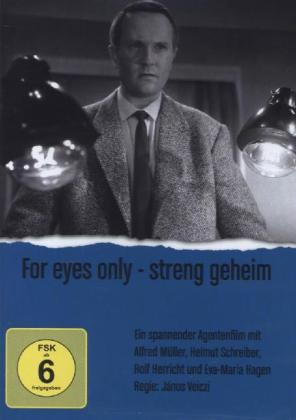 For eyes only, 1 DVD | Dodax.at