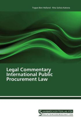 Legal Commentary International Public Procurement Law | Dodax.pl