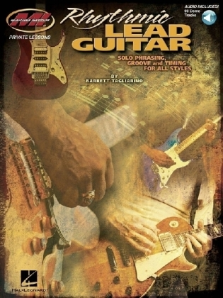 Rhythmic Lead Guitar - Solo Phrasing, Groove And Timing For All Styles, m. Audio-CD   Dodax.pl