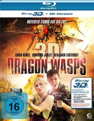 Dragon Wasps 3D, 1 Blu-ray | Dodax.ch