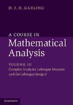 A Course in Mathematical Analysis. Vol.3 | Dodax.pl