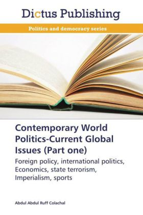 Contemporary World Politics-Current Global Issues (Part one) | Dodax.co.uk