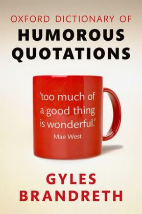Oxford Dictionary of Humorous Quotations | Dodax.pl