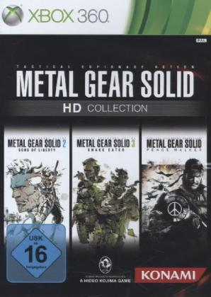 Metal Gear Solid HD Collection German Edition - XBox 360 | Dodax.es