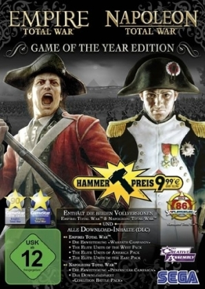 Empire: Total War & Napoleon: Total War, 1 DVD-ROM | Dodax.de