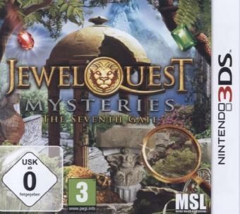 Jewel Quest Mysteries 3 - The Seventh Gate, 1 Nintendo 3DS-Spiel | Dodax.co.uk