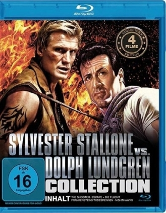 Sylvester Stallone vs. Dolph Lundgren Collection, 1 Blu-ray | Dodax.at