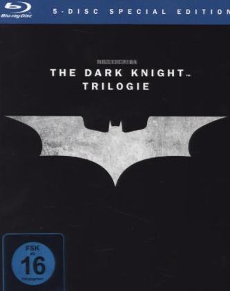 The Dark Knight Trilogy, 5 Blu-rays | Dodax.de