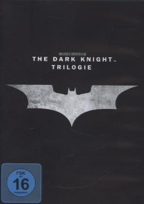 The Dark Knight Trilogy, 3 DVDs | Dodax.de