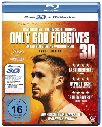 Only God Forgives 3D, 1 Blu-ray | Dodax.ch
