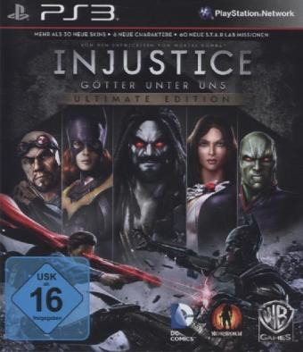 Injustice: Götter Unter Uns Ultimate Edition - PS3 | Dodax.ch