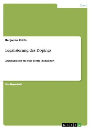 Image of Legalisierung des Dopings