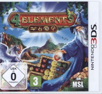4 Elements, 1 Nintendo 3DS-Spiel | Dodax.fr