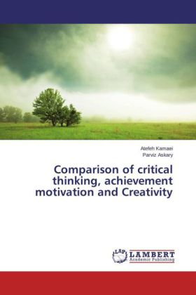 Comparison of critical thinking, achievement motivation and Creativity | Dodax.ch