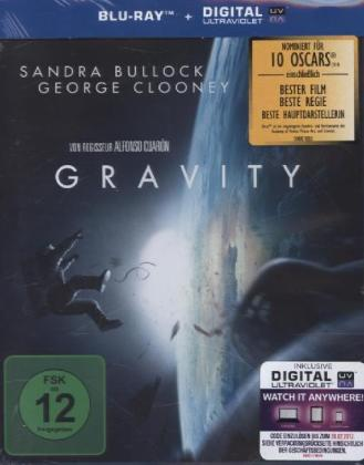 Gravity, 1 Blu-ray + Digital UV | Dodax.ca