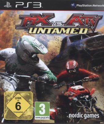 MX vs. ATV: Untamed German Edition - PS3 | Dodax.ch