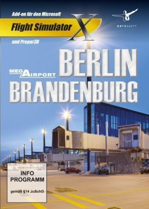 AddOn Flight Simulator X Mega Airport Berlin-Brandenburg, CD-ROM | Dodax.co.uk