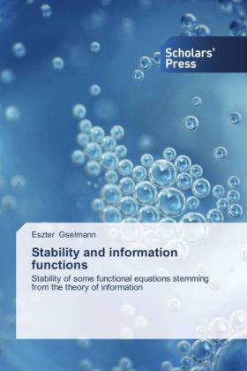 Stability and information functions   Dodax.de