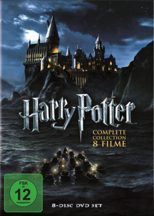Harry Potter: The Complete Collection, 8 DVDs | Dodax.nl