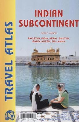 ITM Travel Atlas Indian Subcontinent | Dodax.at