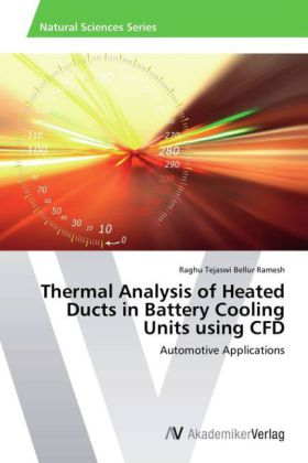 Thermal Analysis of Heated Ducts in Battery Cooling Units using CFD | Dodax.de