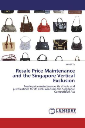 Resale Price Maintenance and the Singapore Vertical Exclusion | Dodax.pl