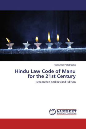 Hindu Law Code of Manu for the 21st Century | Dodax.pl