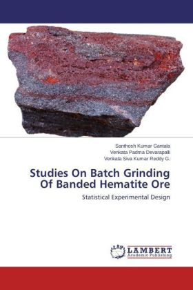 Studies On Batch Grinding Of Banded Hematite Ore | Dodax.ch